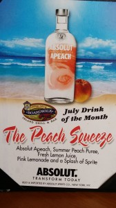 The Peach Squeeze