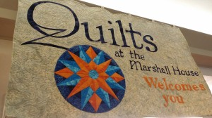 Quilts at the Marshall House
